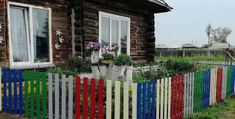 Забор из евроштакетника узкого покрытие полиэстер