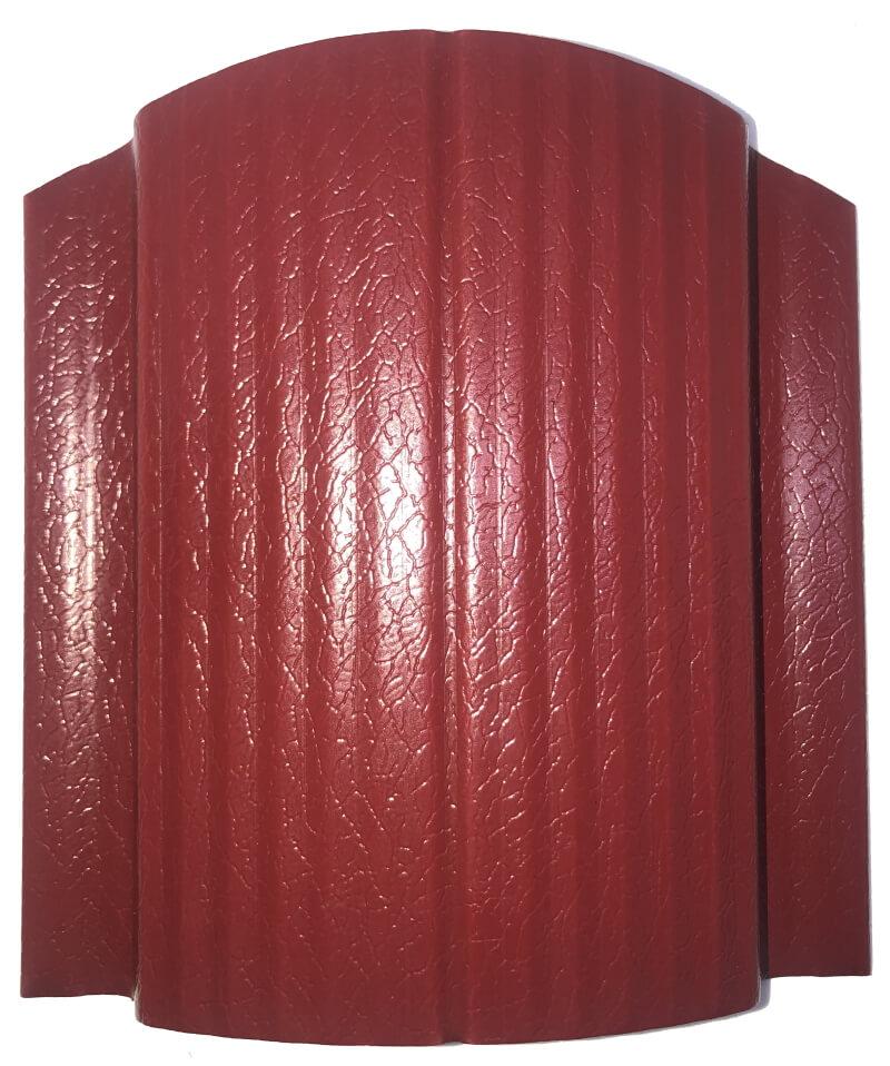 Евроштакетник Пластизол Красный