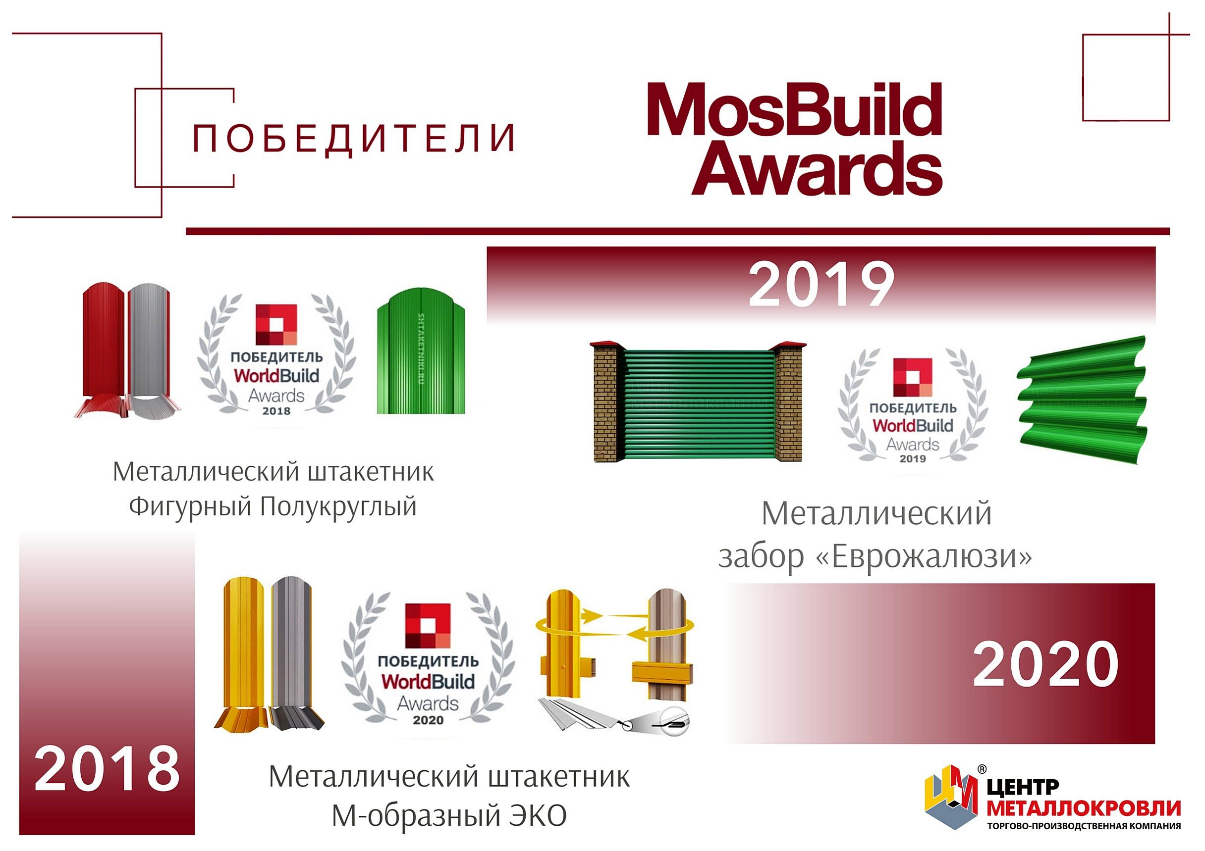 Продукция победитель диплом выставка евроштакетник еврожалюзи WorldBuild - 11