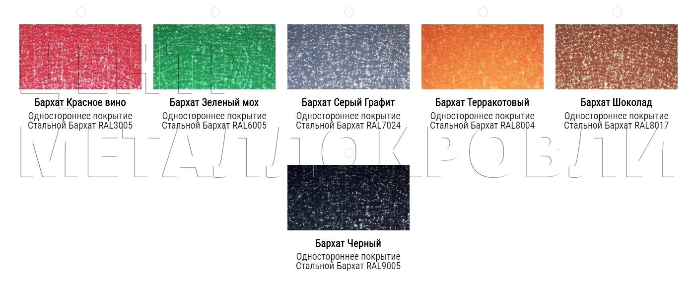 Евроштакетник покрытие одностороннее двустороннее полиэфирная эмаль грунт в цвет - 6-1