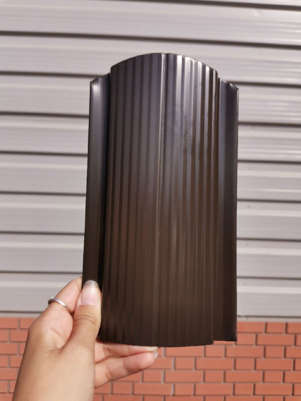 RAL8019 Тёмный Шоколад двухсторонний